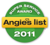 B & W Insect Control & Tree Care recieved Angie's list Super Service Award